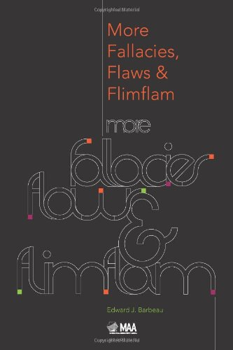 Cover of More Fallacies, Flaws and Flimflam