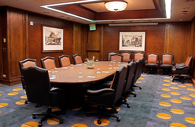 That's a nicer boardroom than we'll have (ShellVacationsHospitality / Flickr)