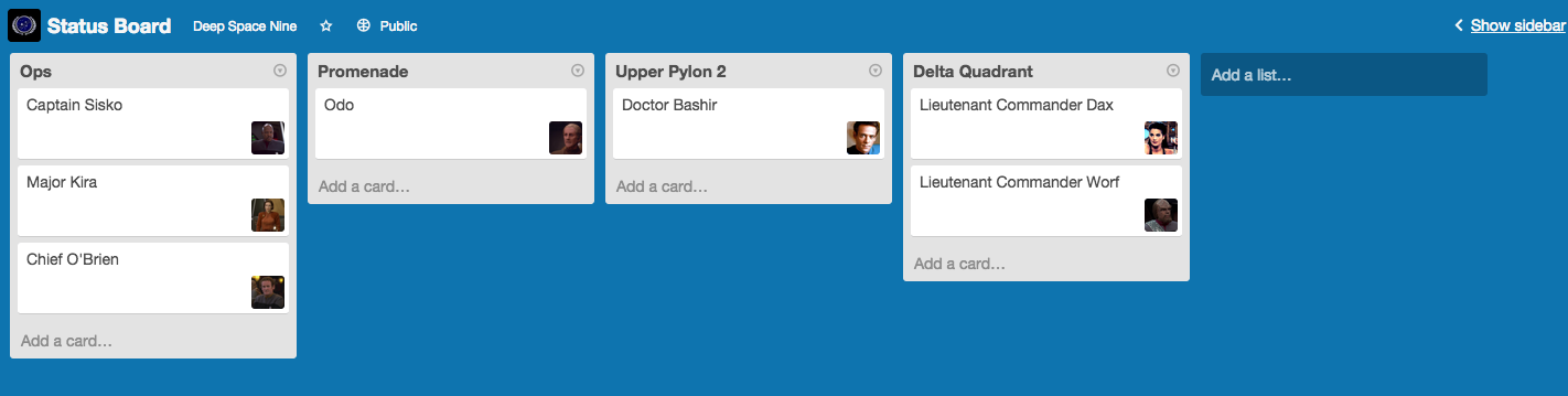 What's going on on Upper Pylon 2, anyway? (Trello)